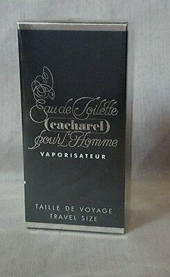 "VINTAGE CACHAREL POUR HOMME eau de toilette 30ml spray, ""first version"""