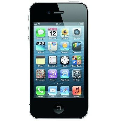 APPLE iPHONE 4 8GB / 16GB / 32GB WHITE / BLACK - UNLOCKED, EE, VODA - Smartphone