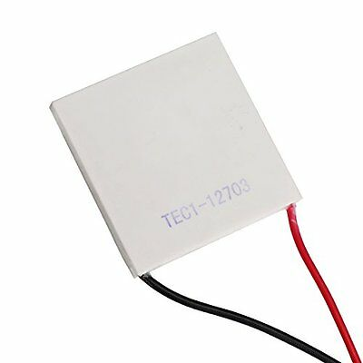DEOK TEC1-12703 Refrigerator Thermoelectric Cooler Cooling Peltier Plate 12V 36W