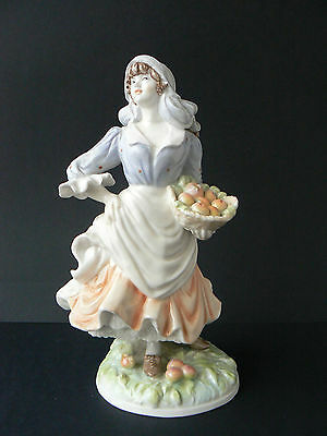 "Limited Edition Royal Worcester Figurine ""Rosie Picking Apples"" RW4322"