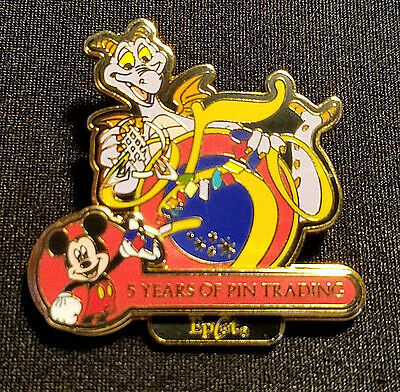 Rare 2004 Disney Wdw Epcot 5 Years Of Pin Trading Collection Figment Pin Le 1500