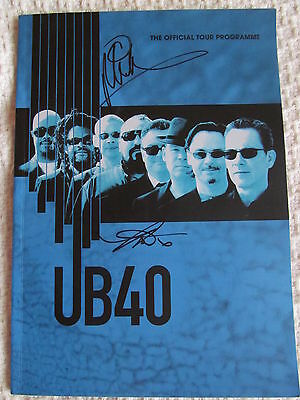 Ub40 Hand Signed Tour  Programme. ( Autograph) Red, Red Wine/labour Of Love