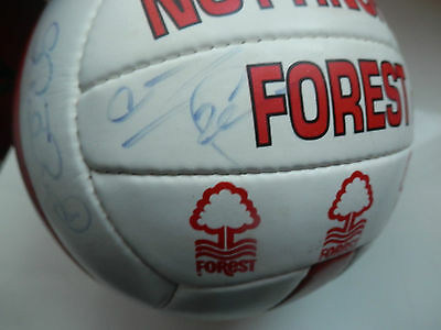 Nottingham Forest 1995 Signed Autographed Football