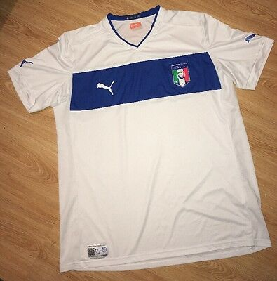 Men's Italy Football Shirt Size XXL Puma