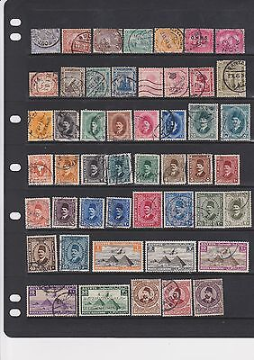 Collection of Anglo-Egyptian Kingdom stamps upto 1953