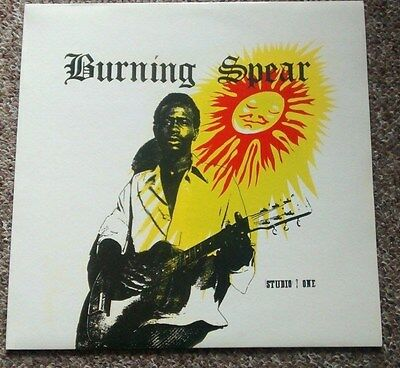 Burning Spear - Studio One Presents Burning Spear LP - Coxsone VG+