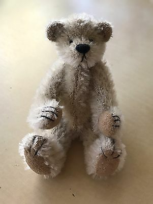 Miniature Teddy Bear ~ AJ by Deb Canham ~ First Mohair Collection 1996