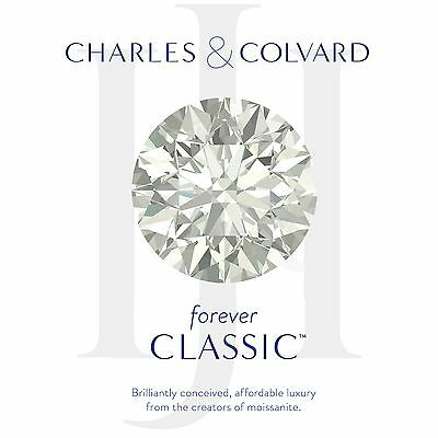 Round Charles Colvard Forever Classic 2 ct Moissanite Loose Stone 8mm