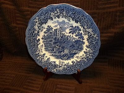 Vintage J and G Meakin Merrie England Derbyshire Haddon Hall 10 Inch Plate
