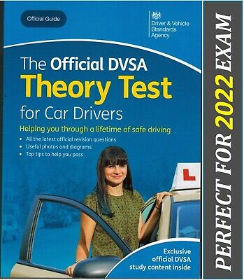 Official DSA DVLA theory test book for car drivers 2020 1day dispatch*ThryBK