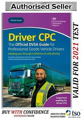 Official DVSA Driver CPC Guide Professional Goods Vehicles LGV Book 2019 'CPC