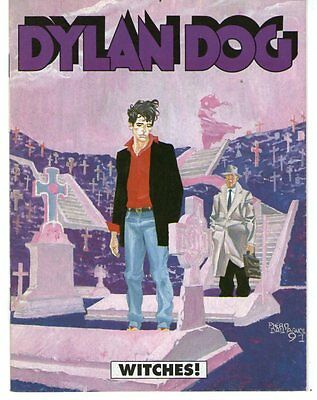 DYLAN DOG: WITCHES! - Supplemento a Glamour n.3 1991 - MAGAZZINO