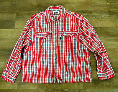 Paul Smith Jeans Heavy Quirky Check Shirt / Jacket - Size Xl