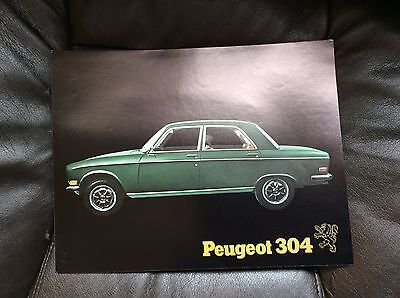 1971 Peugeot 304 Specifications Sheet