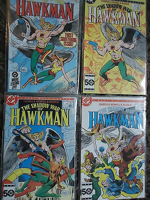 Dc Comics 1985 The Shadow War Of Hawkman  First Issue Full Set #1 To #4.