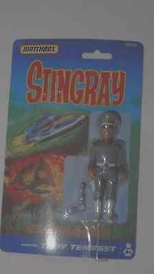 Stngray,  figures rare Troy Tempest,on card, Matchbox