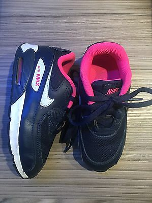 Girls Nike Air Max - infant size 8.5 Excellent Condition