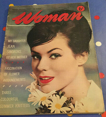 Woman magazine special 1960 issue on Jean Simmons