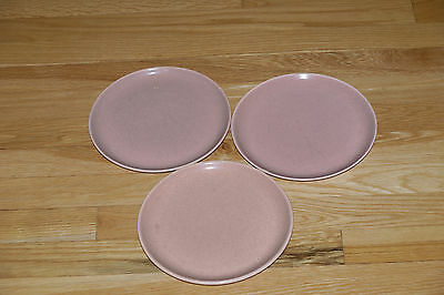 Steubenville American Modern Russell Wright Coral 3 Salad Plates