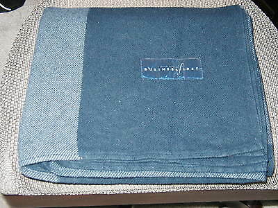 Continental Airlines Business First Blanket