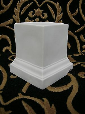 Parian Base Support - Victorian R & L - 3.75 Inches - Excellent.