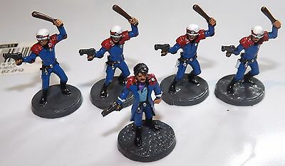 Ral Partha 20-511 SHADOWRUN Lone Star Street Cops Good condition painted Photo
