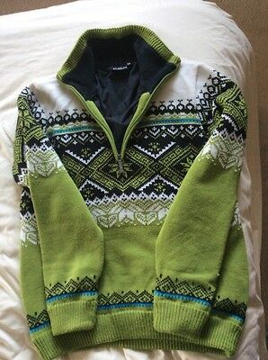 CMP   Campagnolo  Italian ski  Snowboard Sweater Jumper  XS  new without tags