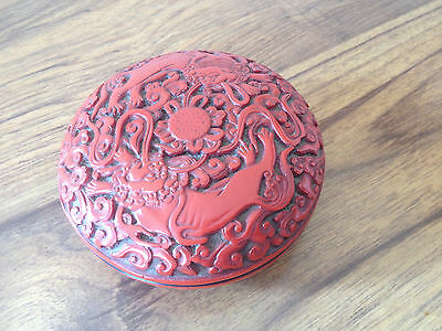 Vintage Chinese  Lacquered Box