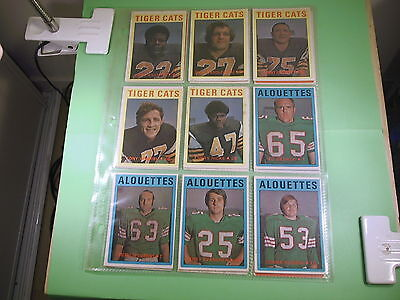 Old  Lot Of 18 Football Cards   #9