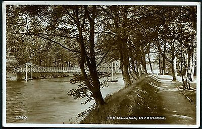 Inverness-Shire - The Islands Inverness - Original Rp Postcard Posted 1934 #c760