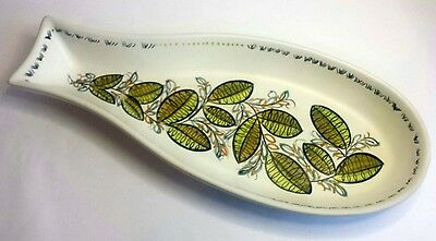 Denby Hand Painted 'Glynware' Fish Dish.  Oven-to-Table Ware.