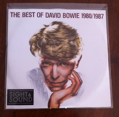 David Bowie- The Best Of David Bowie 1980/1987 Cd+ Dvd Promo!!