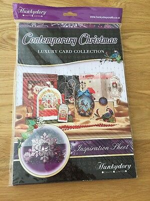 Hunkydory Luxury Card Making Kit With Toppers - Contemporary Christmas Brand New