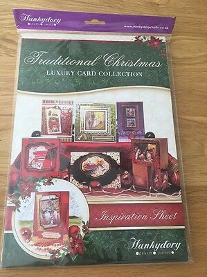 Hunkydory Luxury Card Making Kit With Toppers - Traditional Christmas Brand New