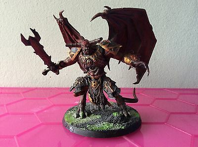 Daemon Prince winged chaos space marines or Sigmar AoS Khorne Tzeentch