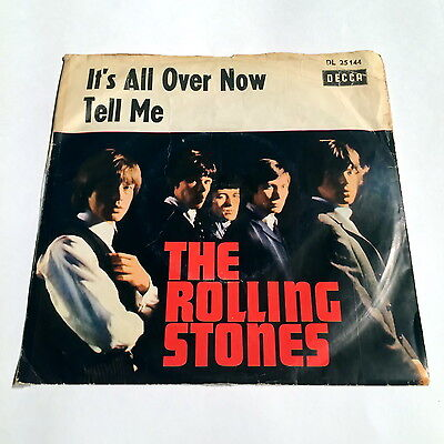 The Rolling Stones – It's All Over Now Decca 1964 Germany DL 25 144(Rarität)