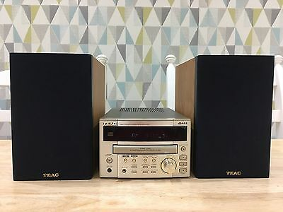 TEAC CR-H100 Audio Shelf System Component Hi-Fi And Speakers