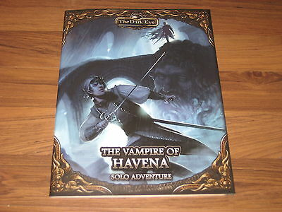 TDE The Dark Eye Vampire of Havena Solo Adventure Ulisses 2016 New EN