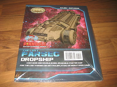 The Last Parsec Map Dropship/Freighter Studio 2 Savage Worlds Neu New Sealed