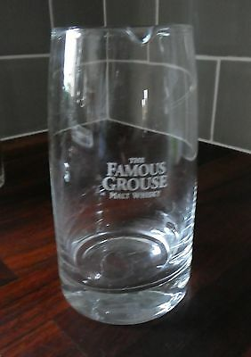 Famous Grouse Whisky Whiskey Scotch Glass Jug