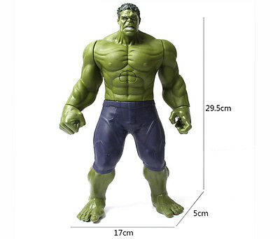 """Marvel Avengers 2  Age Of Ultron The Incredible Hulk"""" 12"""" Figure Non Talking New"""