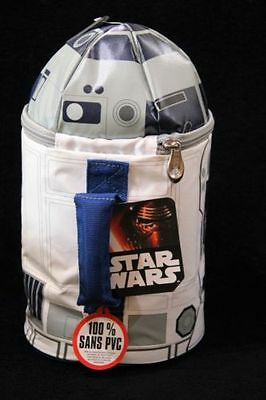 NEW Disney R2 D2 Star Wars Insulated Lunch Box  with Lights & Sounds by Thermos