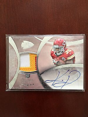 2013 Topps Five Star Knile Davis Auto Rookie Patch /94 Football Card Chiefs NFL