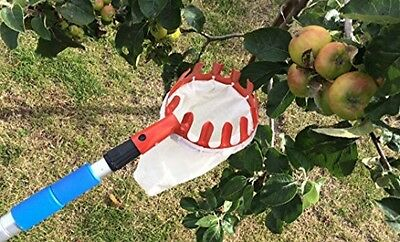Deluxe Lightweight Telescopic Apple and Fruit Picker