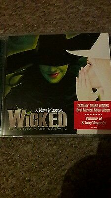 wicked the musical cd ocr