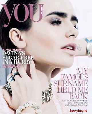 YOU Magazine - The Mail On Sunday - LILY COLLINS - Love Rosie Star - 15 Jan 2017