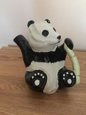 Vintage Beswick Panda Bear Tea Pot Excellent Condition Stamped to Base