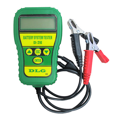 DLG DI-216 12V Automotive Battery Tester Vehicle Car Battery Tester Analyzer