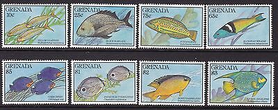 Grenada 1990 Coral Reef Fishes Set, Unmounted Mint, Cat £10
