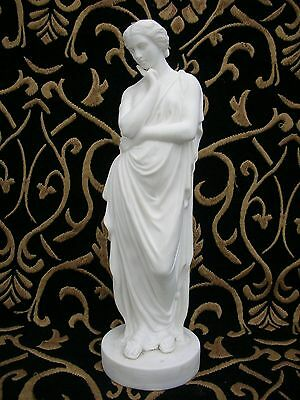 Lovely Parian Figure - Meditation - possibly a W. H. Goss production.